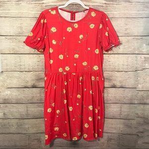 NWT Asos Floral T-shirt Dress